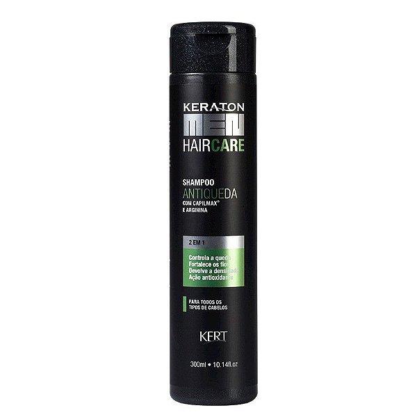 Shampoo Keraton Men-Antiqueda-Capilmax e Arginina
