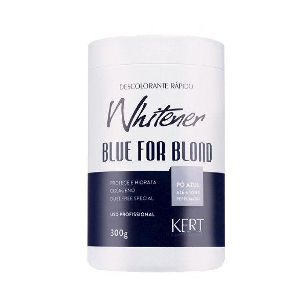Descolorante WHITENER Blue 4 Blond-Dust Free-Po Azul-300g