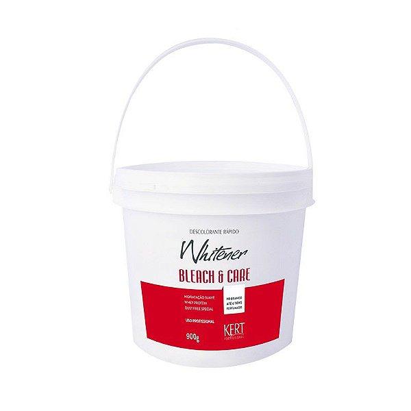Descolorante WHITENER Bleach And Care-Dust Free-Po Branco-900g