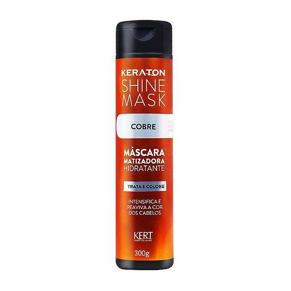 Máscara Matizadora Keraton Shine Mask - Cobre