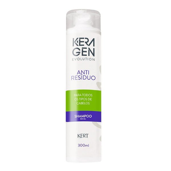 Shampoo Keragen Evolution - Antirresíduo