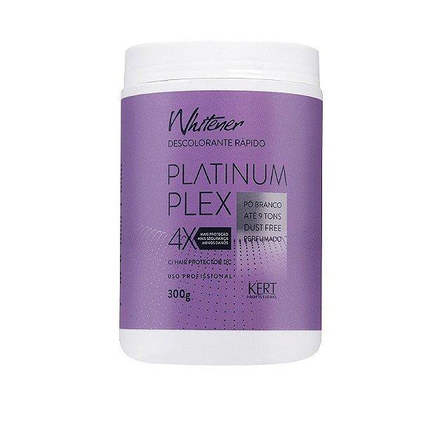 Descolorante WHITENER Platinum Plex-Dust Free-Po Branco-300g
