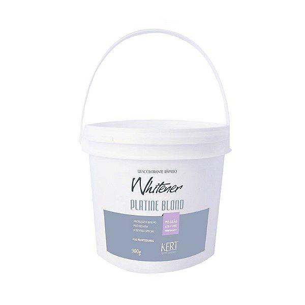 Descolorante WHITENER Platine Blond - Dust Free (Pó Lilás) - 900g