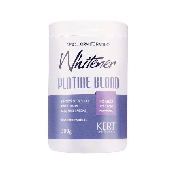 Descolorante WHITENER Platine Blond - Dust Free (Po Lilas) - 300g