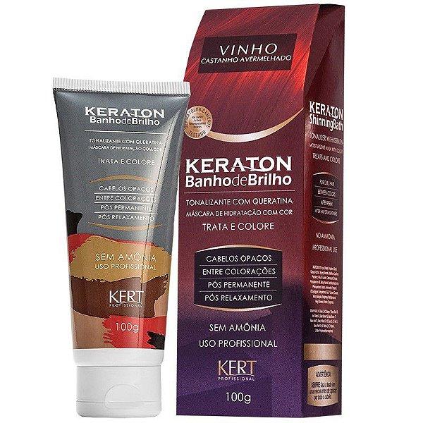 Tonalizante Keraton Banho de Brilho - Vinho