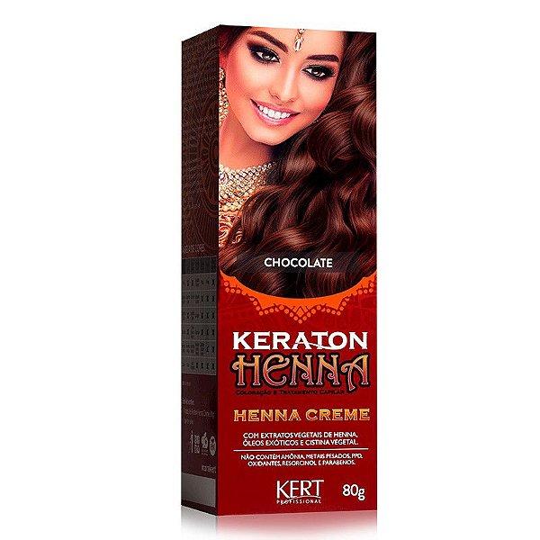 Tonalizante Keraton Henna Creme - Chocolate