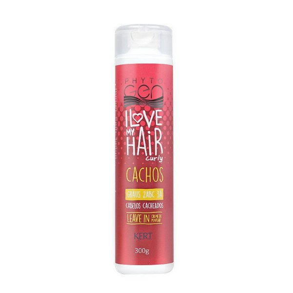 LEAVE IN Phytogen I LOVE MY HAIR - Cacheados 2ABC e 3A