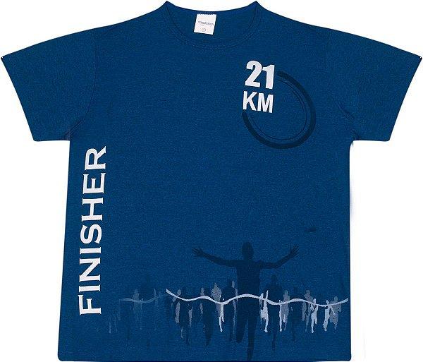Camiseta Masculina Finisher 21 Km