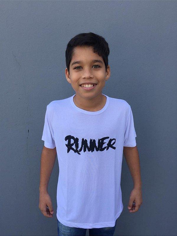 Camiseta Infantil Runner