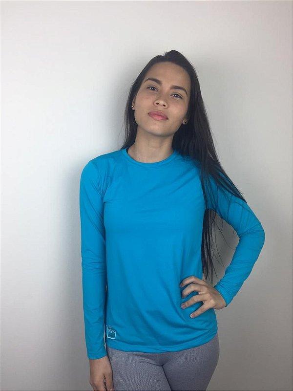Camiseta Bolt Feminina proteção UV50+