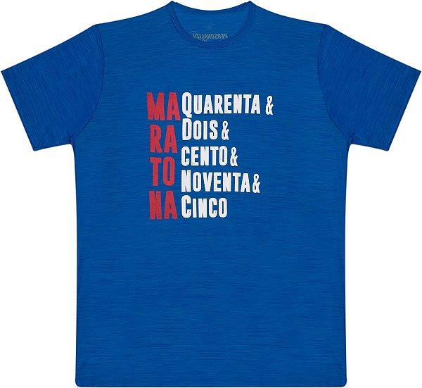 Camiseta Masculina Maratona