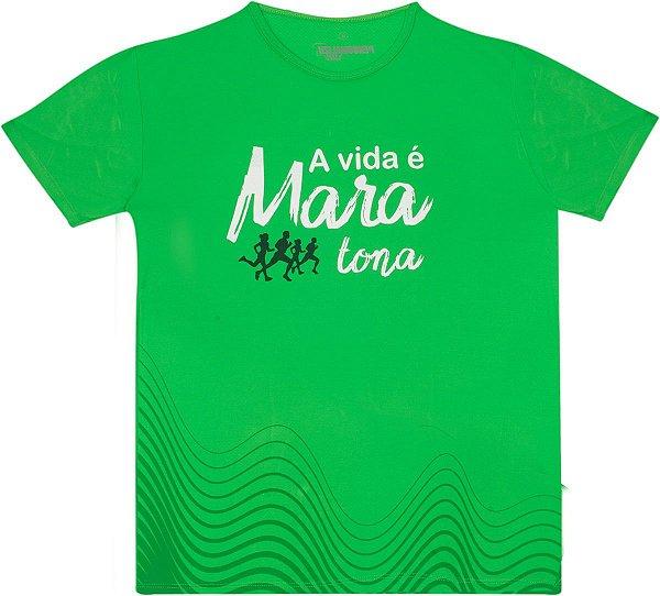 Camiseta Feminina A vida é Mara