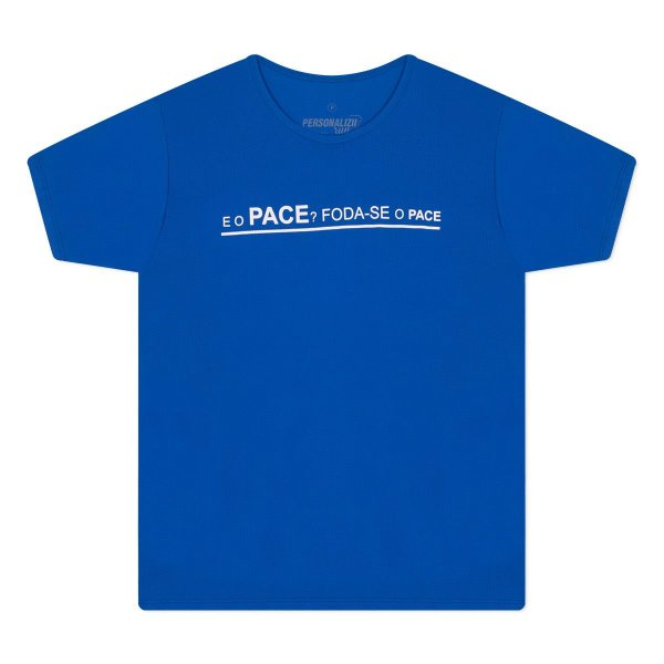 Camiseta Masculina E o Pace?