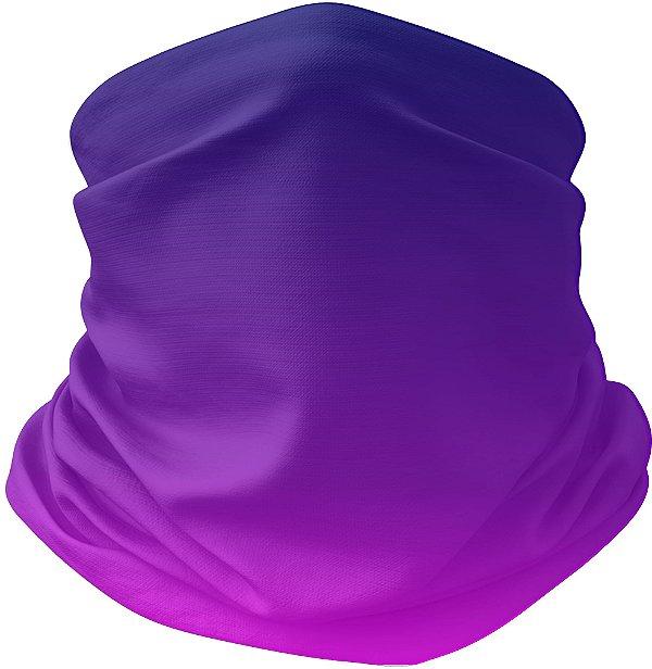 Bandana Tubular Gradiente Rosa