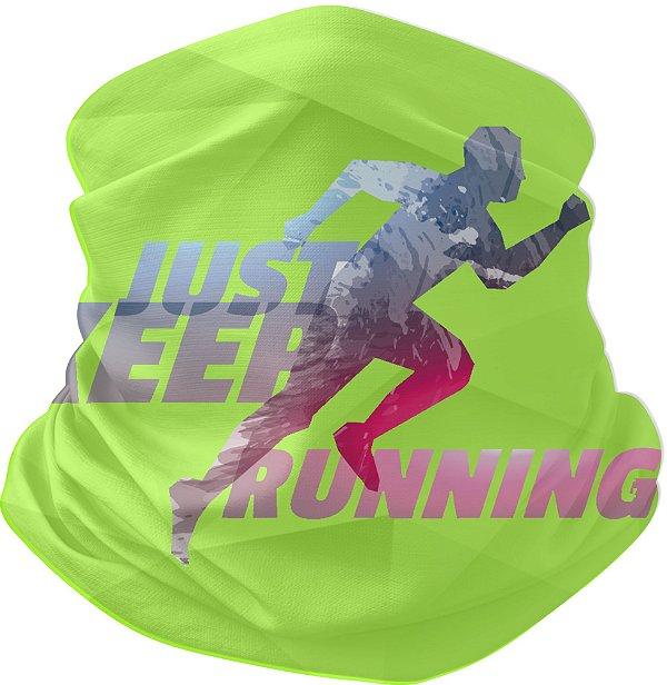 Bandana Tubular Just Keep Running