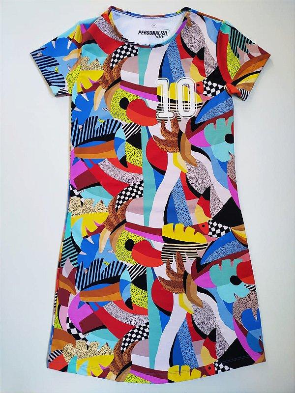 Vestido Estampado Tucano 10KM