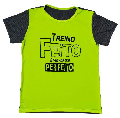 Camiseta Feminina Treino Feito