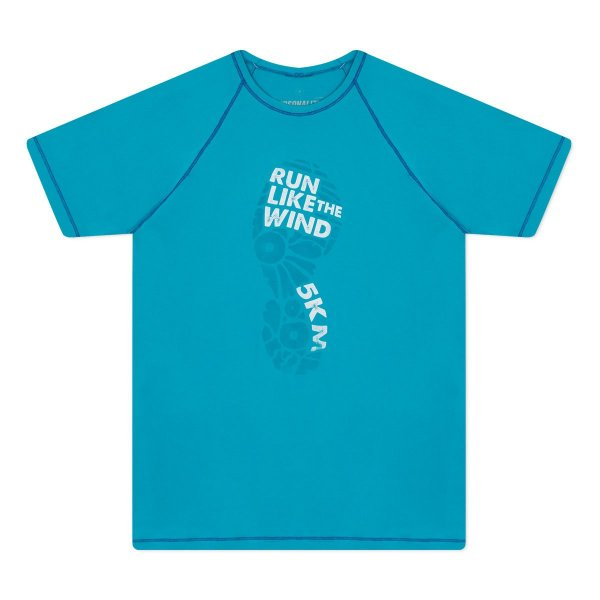 Camiseta Masculina Run Like The Wind 5