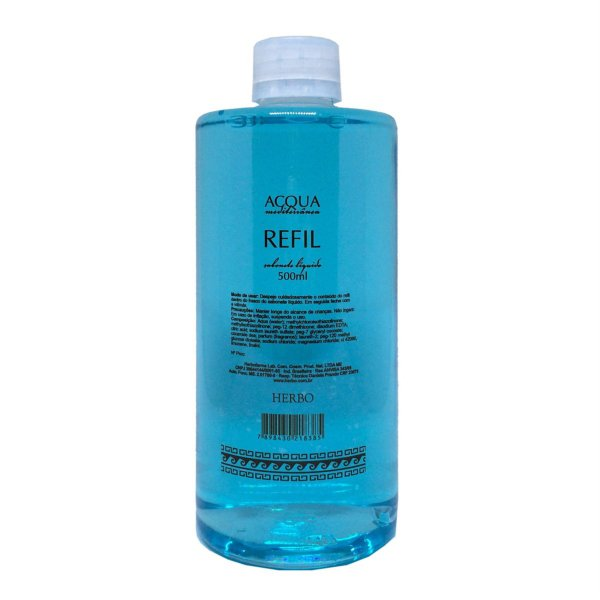 Sabonete Líquido Refil - Acqua Mediterrânea