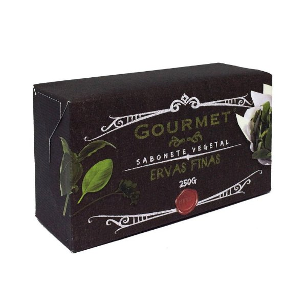 Sabonete Vegetal - Fragrância Ervas Finas - Gourmet