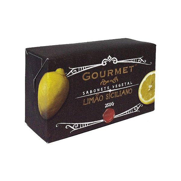Sabonete Vegetal - Fragrância Limão Siciliano - Gourmet