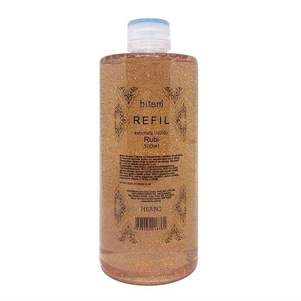 Sabonete Líquido Refil - Rubi - Hitam