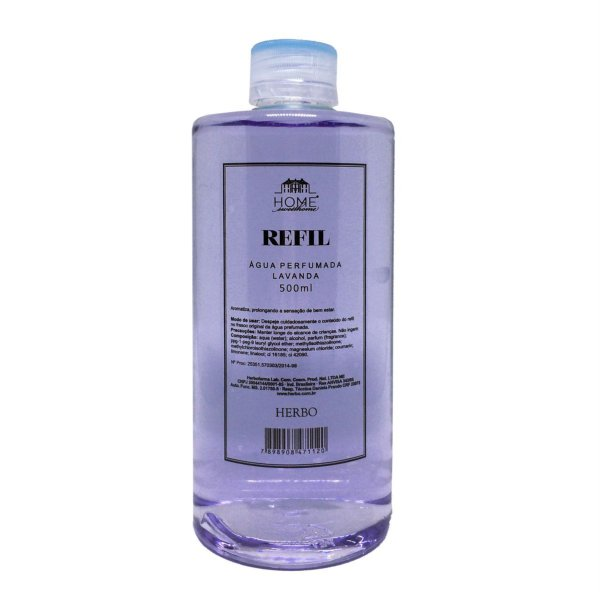 Água Perfumada Refil - Fragrância Lavanda - Home Sweet Home