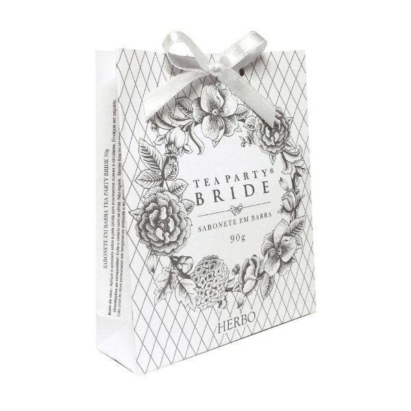 Sabonete Vegetal - Fragrância Bride - Tea Party