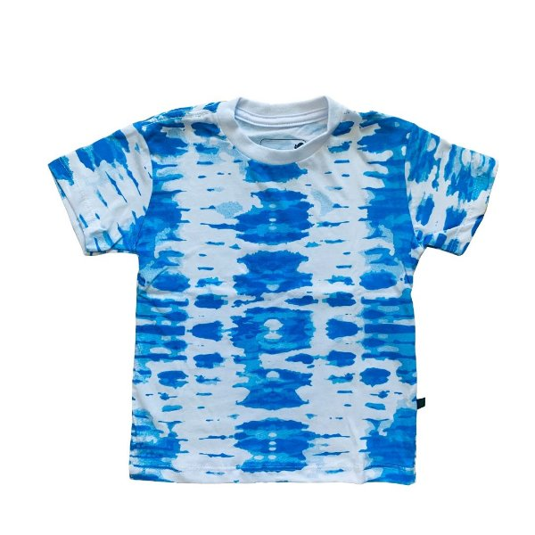 Camiseta Infantil Tie Dye