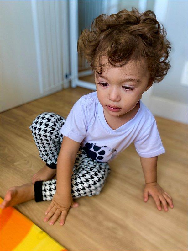 Calça Saruel Bebê Xadrez