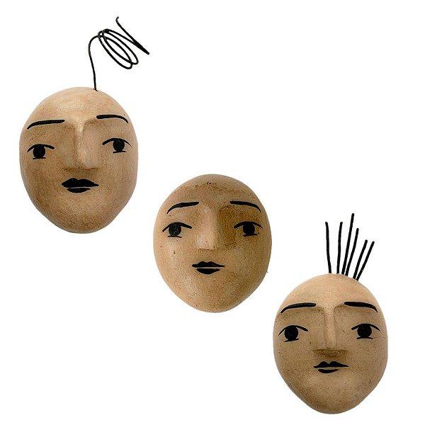 Máscara de parede lenys pequena