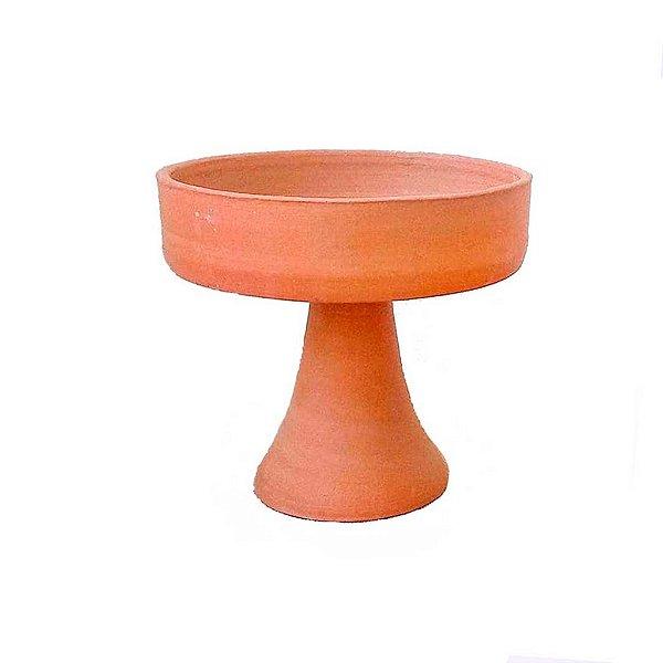 Fruteira grande em cerâmica