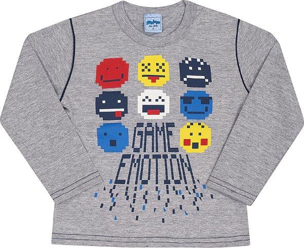 Camiseta Avulsa Game Edition Mescla - Serelepe Kids
