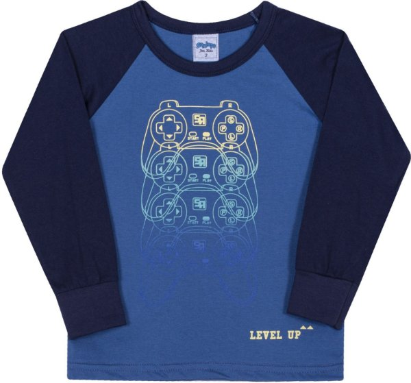 Camiseta Avulsa Infantil Level Up Alaska - Serelepe Kids