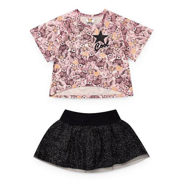 Conjunto Love Estelear Rosa - Sucri Style