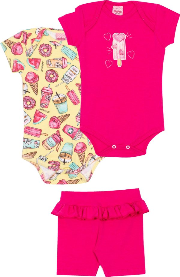 Kit Body Candy Kawaii Lima - Serelepe Kids