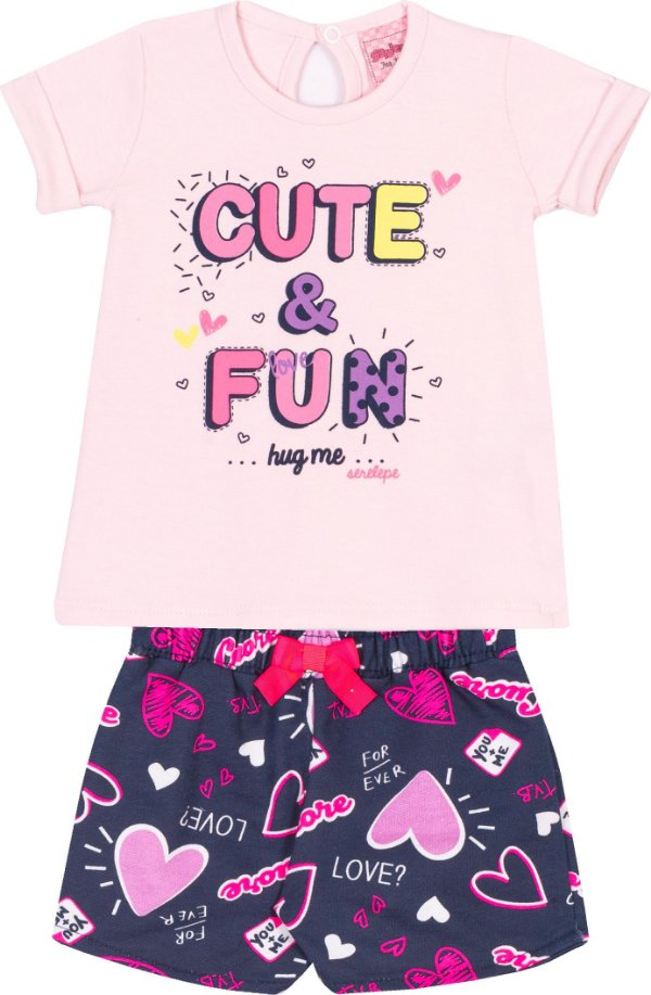 Conjunto Cute & Fun Pétala - Serelepe kids
