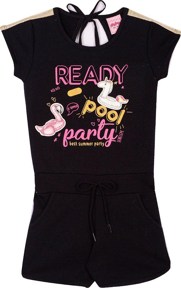 Maquinho Ready Pool Party  Preto - Serelepe Kids