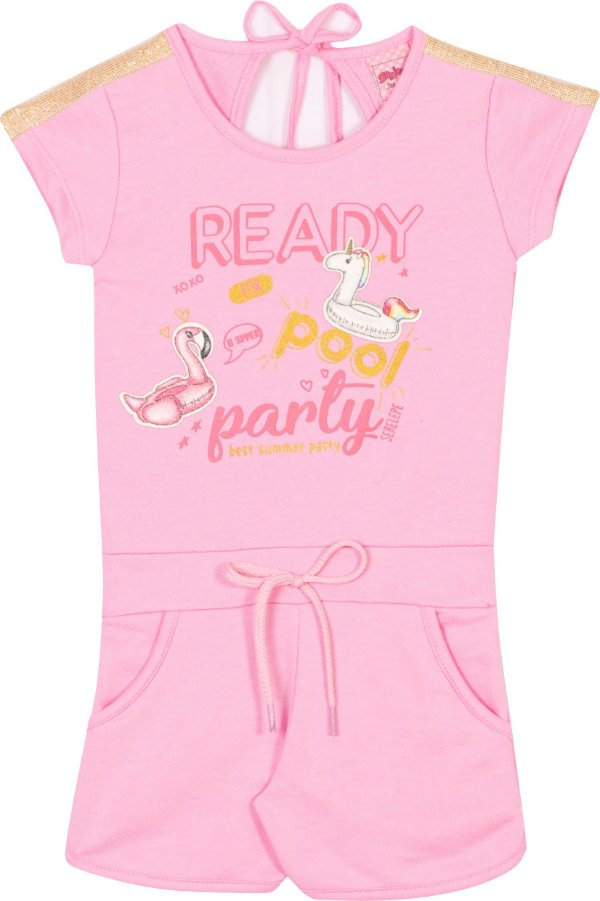 Maquinho Ready Pool Party  Bêgonia - Serelepe Kids