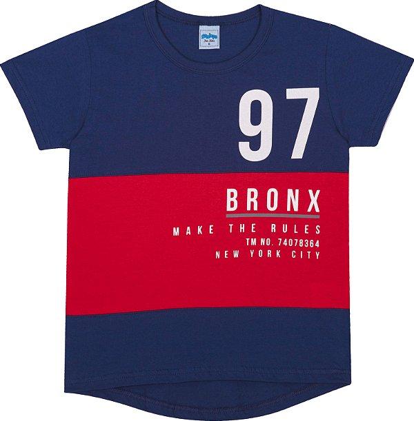 Serelepe Kids - Camiseta Avulsa 97 Bronx Marinho