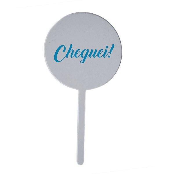 Topo Bolo Cheguei - Azul