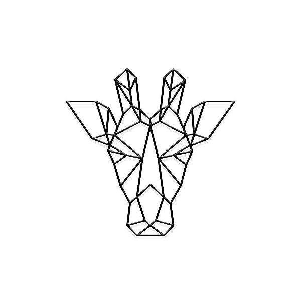 Decorativo Cabeça Girafa