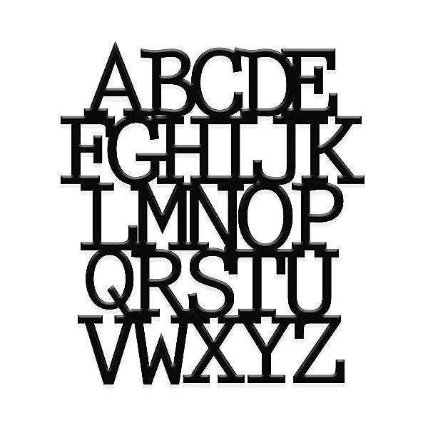 Decorativo Alfabeto