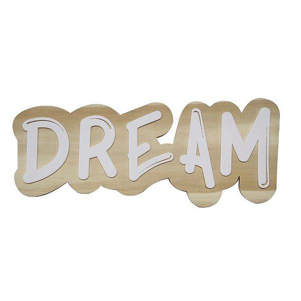 Lettering de parede Dream