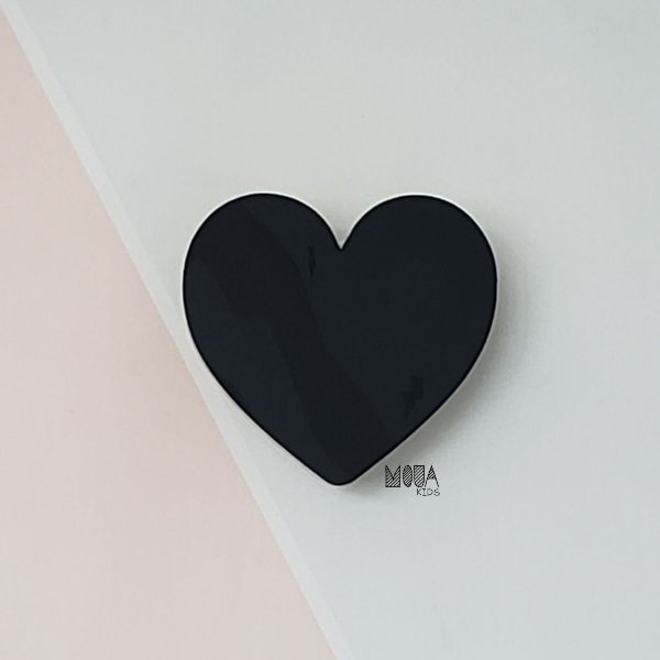Cabideiro Coração Preto