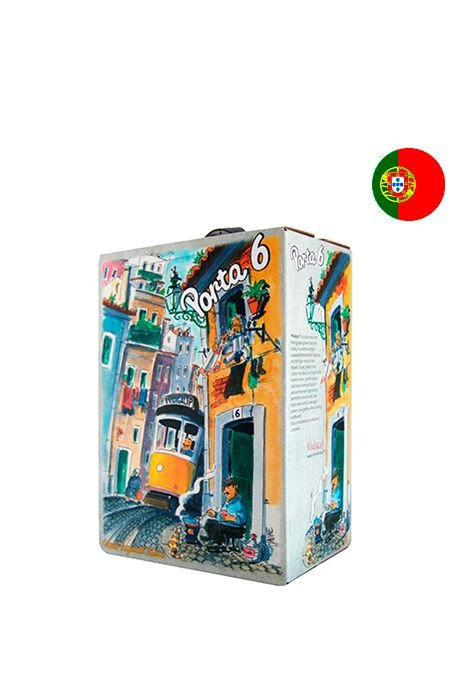 Bag In Box Porta 6 Tinto - 3 Litros
