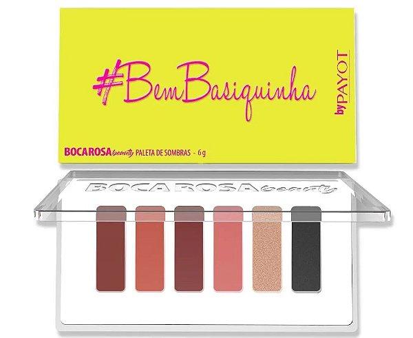Paleta De Sombras #BEMBASIQUINHA Boca Rosa Beauty by Payot