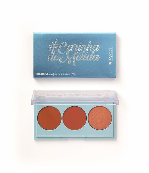 Paleta de blushes #CarinhadeMetida Boca Rosa Beauty by Payot