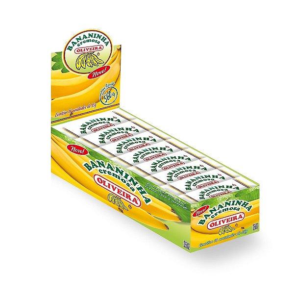 Doce de Banana Cremosa Oliveira - 8 Display com 32 unidades