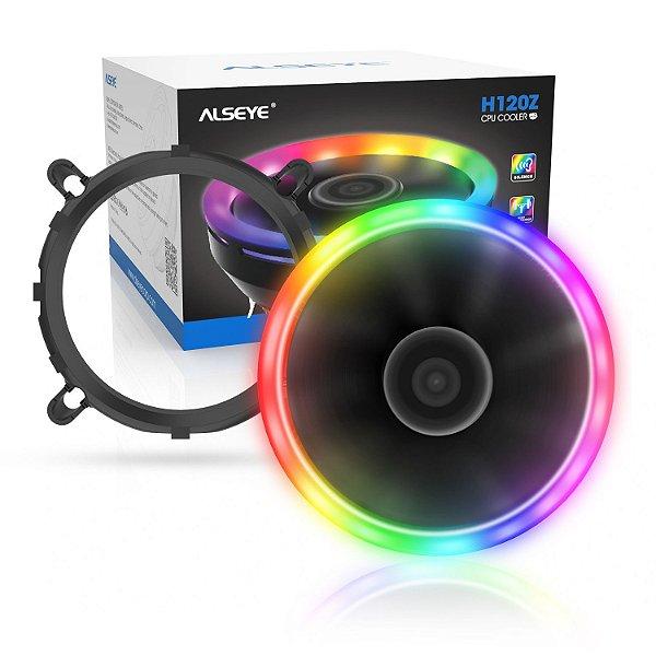 Cooler para Processador Alseye H120Z RGB 120mm Intel e AMD